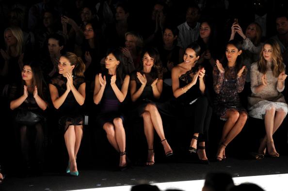 Jamie Spencer「Monique Lhuillier - Front Row - Mercedes-Benz Fashion Week Spring 2015」:写真・画像(13)[壁紙.com]