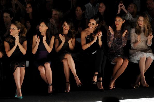 Jamie Spencer「Monique Lhuillier - Front Row - Mercedes-Benz Fashion Week Spring 2015」:写真・画像(16)[壁紙.com]