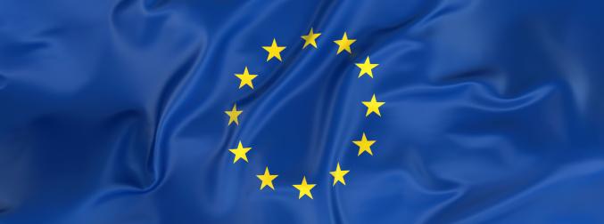 European Union「European Union Flag banner」:スマホ壁紙(10)
