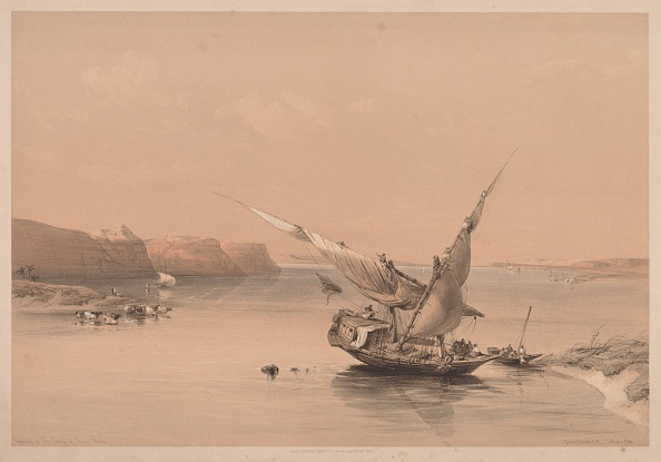 Chromolithograph「Egypt And Nubia: Volume Ii - No. 6」:写真・画像(7)[壁紙.com]