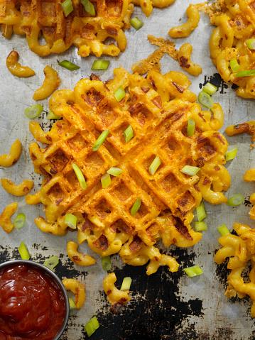 Fusion Food「Waffled Mac and Cheese」:スマホ壁紙(19)
