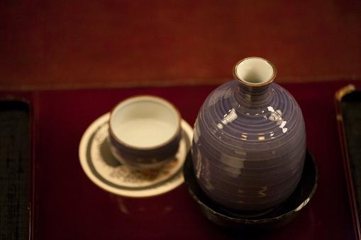 Sake「Choko and Tokkuri (sake bowl and sake bottle)」:スマホ壁紙(15)