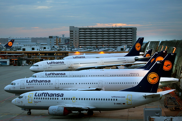 Lufthansa「Lufthansa Pilots Launch Two-Day Strike」:写真・画像(2)[壁紙.com]