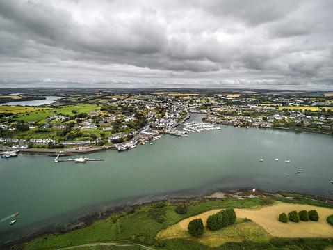 County Cork「Kinsale harbor view, Cork, Ireland」:スマホ壁紙(15)
