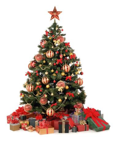 プレゼント「Christmas presents under tree」:スマホ壁紙(11)
