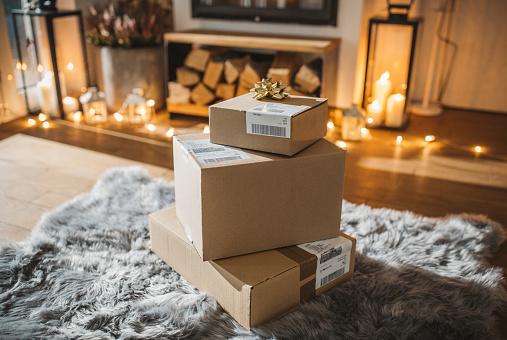 Online Shopping「Christmas presents」:スマホ壁紙(18)