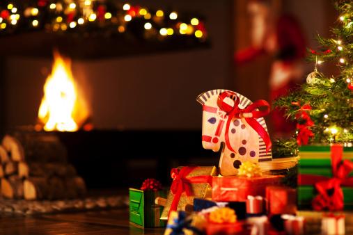ぬいぐるみ「クリスマスは」:スマホ壁紙(12)