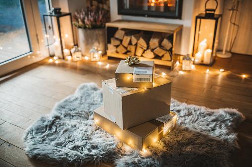 Online Shopping「Christmas presents」:スマホ壁紙(17)
