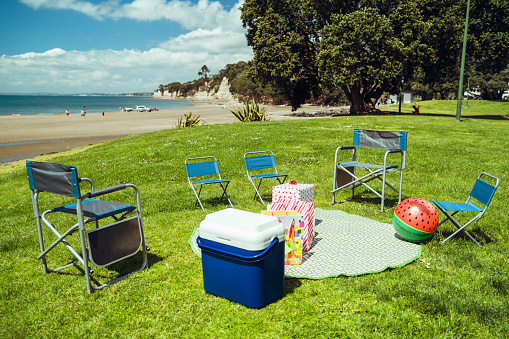 Auckland「Christmas party preparation at beach.」:スマホ壁紙(18)