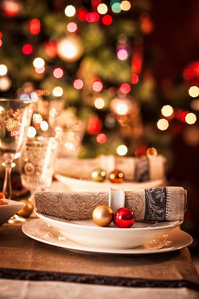 Christmas Place Setting:スマホ壁紙(壁紙.com)