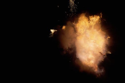Fireball「Yellow explosion in distance」:スマホ壁紙(12)
