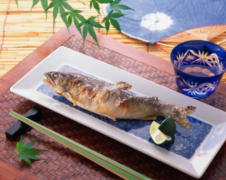 Fish「Grilled Ayu, Plecoglossus altivelis altivelis」:スマホ壁紙(19)