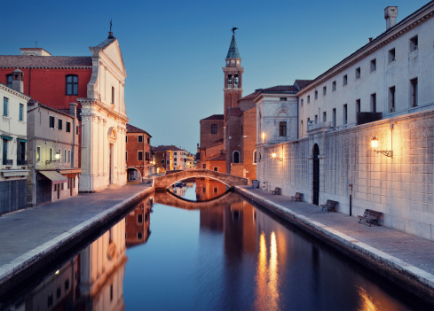 Gothic Style「Canal in Chioggia」:スマホ壁紙(15)