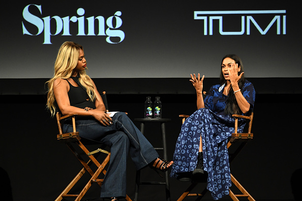 Tribeca TV Festival「Tribeca Talks: Rosario Dawson & Laverne Cox - 2018 Tribeca TV Festival」:写真・画像(5)[壁紙.com]