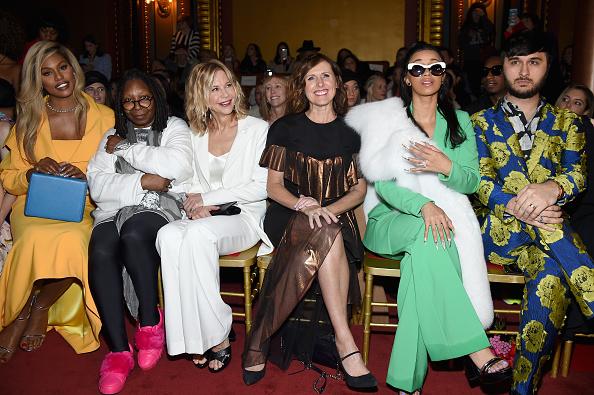 ニューヨークファッションウィーク「Christian Siriano - Front Row - February 2018 - New York Fashion Week」:写真・画像(7)[壁紙.com]