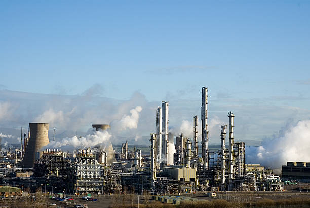 Grangemouth Petrochemical Refinery:スマホ壁紙(壁紙.com)