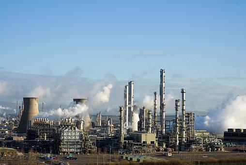 Oil Industry「Grangemouth Petrochemical Refinery」:スマホ壁紙(9)