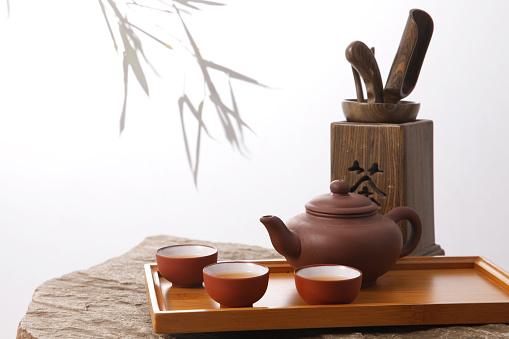 竹「Tea set」:スマホ壁紙(16)