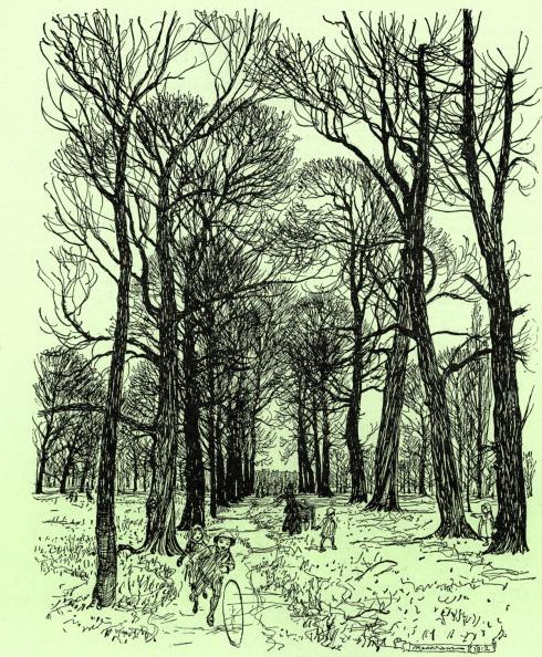 Literature「Peter Pan in Kensington Gardens」:写真・画像(10)[壁紙.com]