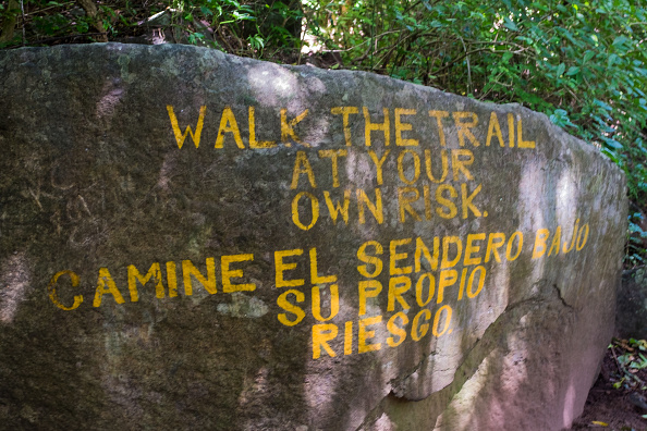 Footpath「Hiking Trail Warning」:写真・画像(16)[壁紙.com]