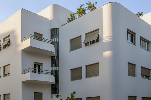 UNESCO World Heritage Site「Israel, Tel Aviv, White City, Rothschild Boulevard, Bauhaus style」:スマホ壁紙(10)