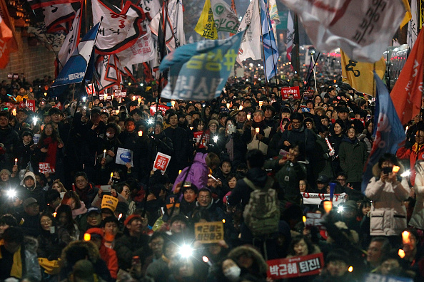 South Korea「Rally Against President Park Continues In Seoul」:写真・画像(15)[壁紙.com]