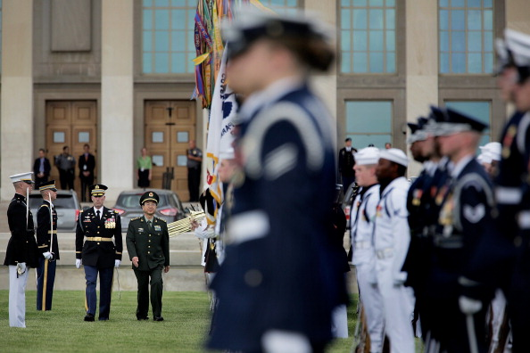 J R Smith「Martin Dempsey Hosts China's Army Chief Of General Staff At The Pentagon」:写真・画像(9)[壁紙.com]