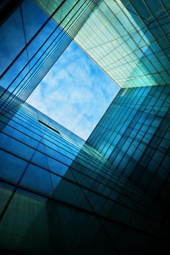 Skyscraper「Modern Glass Architecture」:スマホ壁紙(4)