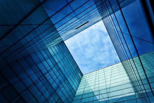 Vanishing Point「Modern Glass Architecture」:スマホ壁紙(19)