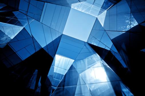 Skyscraper「Modern Glass Architecture」:スマホ壁紙(12)