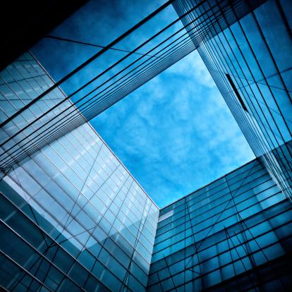 Square「Modern Glass Architecture」:スマホ壁紙(9)