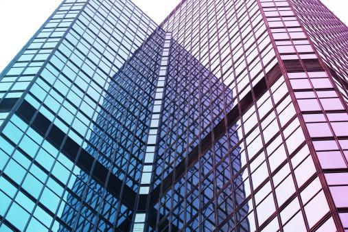 Merging「Modern Glass Architecture」:スマホ壁紙(10)