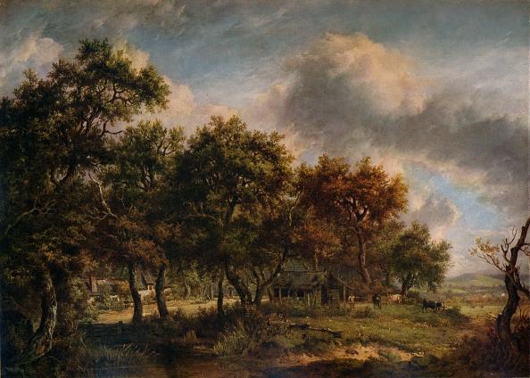 Overcast「'A Woodman's Cottage', 1820」:写真・画像(10)[壁紙.com]