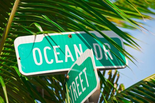 Miami Beach「Street signs」:スマホ壁紙(7)