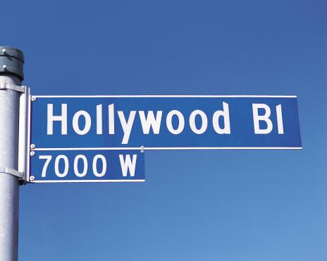 Boulevard「Street sign for Hollywood Boulevard, Los Angeles, California, USA」:スマホ壁紙(16)