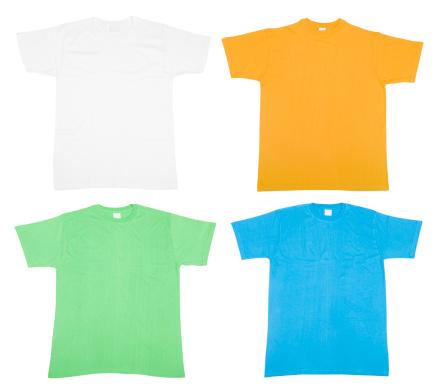 デジタル合成「カラフルな Tシャツ」:スマホ壁紙(16)