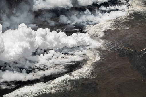 Puna「Lava Entering the Sea」:スマホ壁紙(4)