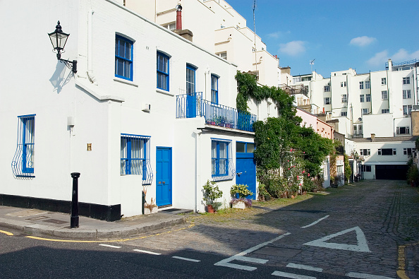 Wall - Building Feature「Private mew road in Kensington, London」:写真・画像(9)[壁紙.com]