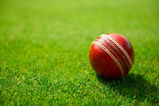 Weekend Activities「Red cricket ball on grass」:スマホ壁紙(16)