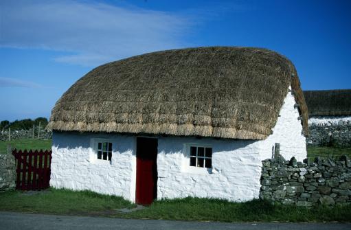 Isle of Man「Thatched roof house, Cregneash, Isle of Man」:スマホ壁紙(15)