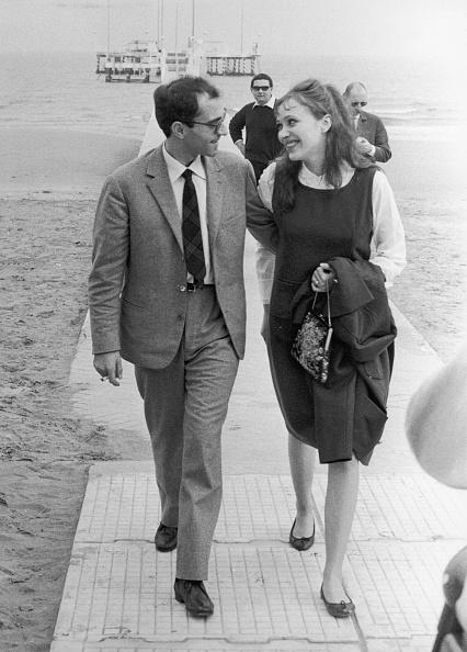 アンナ・カリーナ「Anna Karina With Godard」:写真・画像(4)[壁紙.com]