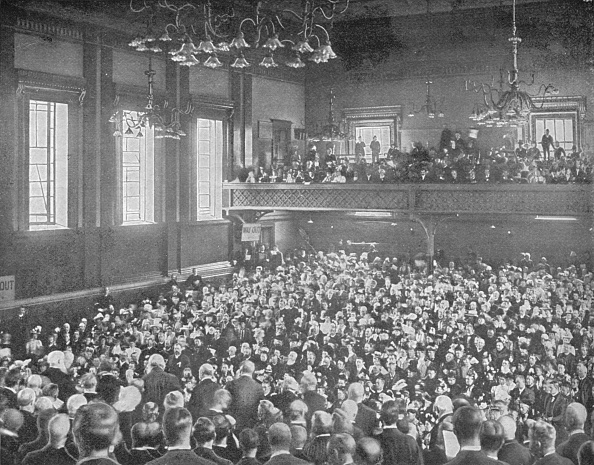 Corridor「A May meeting, Exeter Hall, London, c1903 (1903)」:写真・画像(18)[壁紙.com]