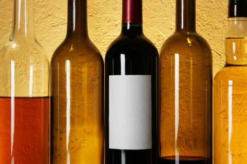リキュール「Wine bottles in a row」:スマホ壁紙(19)