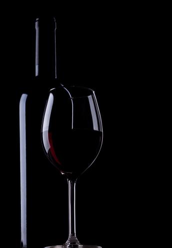 Wine Bottle「Wine bottle and glass」:スマホ壁紙(8)
