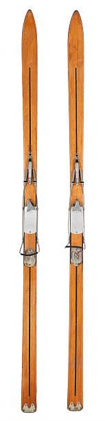 Vintage Skis - Vertical:スマホ壁紙(壁紙.com)