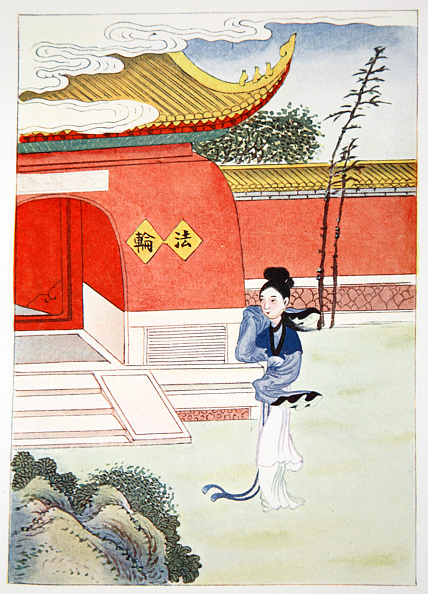 One Young Woman Only「Miao Shan Reaches The Nunnery' 1922」:写真・画像(8)[壁紙.com]