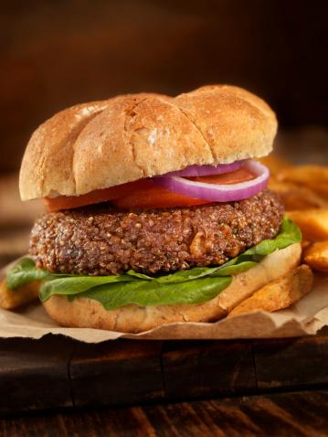 Veggie Burger「Quinoa Burger」:スマホ壁紙(13)