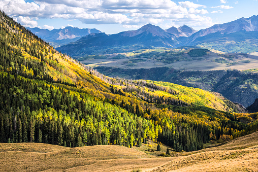 Uncompahgre National Forest「Afternoon view at Last Dollar Pass」:スマホ壁紙(0)