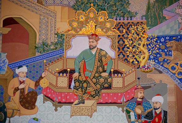 Tim Graham「Mural of Tamerlane, Uzbekistan」:写真・画像(2)[壁紙.com]