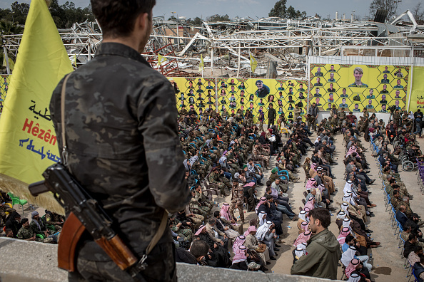 Militant Groups「Last ISIS-Held Village In Syria Falls to US-Backed Forces」:写真・画像(0)[壁紙.com]